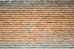 Masonry built a long time ago. Background of old vintage brick wall Stock Photo
