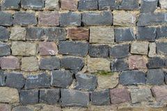 Masonry  large rough stones Royalty Free Stock Images