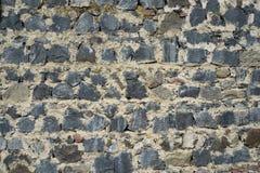 Masonry  large rough stones Royalty Free Stock Photo