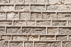 Free Masonry Of An Ancient Stone Wall Eroded Stock Photo - 92748040