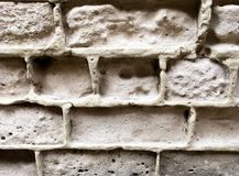 Masonry of old bricks attracted my attention. There`s something about it stock photo