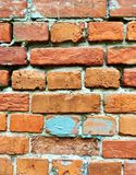 Masonry of old bricks attracted my attention. There`s something about it stock photography