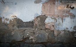 Masonry. Old plaster Stock Photography