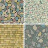 Masonry patterns Stock Image