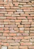 Masonry of red brick Stock Images