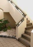 Masonry staircase. Photo image of an outside masonry contemorary staricase Royalty Free Stock Photo