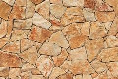 Masonry Stone Wall Stock Photo