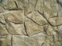 Masonry stone wall drawing Royalty Free Stock Image