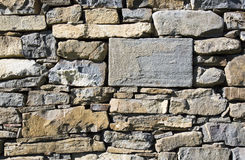 Masonry stone wall Royalty Free Stock Image