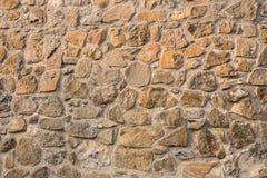Masonry stone wall Stock Image