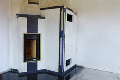 Masonry stove Stock Images
