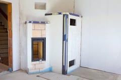 Masonry stove Stock Image