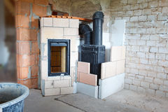 Masonry stove Stock Photos