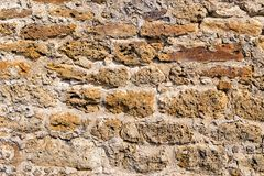 Masonry texture from old building Stock Images
