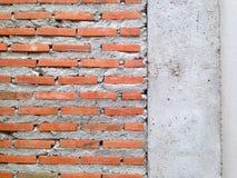 Masonry to build a wall. Red brick wall background. Brick wallpaper. royalty free stock images