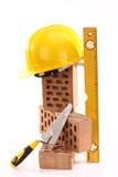 Masonry tools Royalty Free Stock Photo
