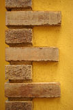 Masonry wall decoration Stock Image