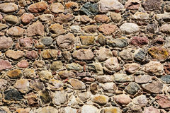 Masonry walls of stone Royalty Free Stock Photo