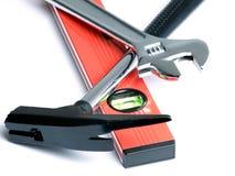 Masons tools Stock Photography