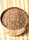 Masoor dal whole Stock Image