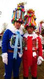 Masopust καρναβάλι στα άτομα Δημοκρατίας της Τσεχίας στο κοστούμι Στοκ Φωτογραφίες