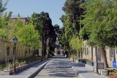 Masoudieh宫殿,德黑兰,伊朗 免版税图库摄影