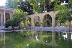 Masoudieh宫殿,德黑兰,伊朗 库存照片
