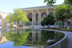 Masoudieh pałac, Teheran, Iran Zdjęcia Stock