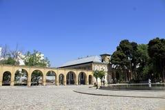 Masoudieh Palace, Tehran, Iran Stock Photo