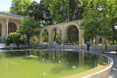Masoudieh-Palast, Teheran, der Iran Stockbild