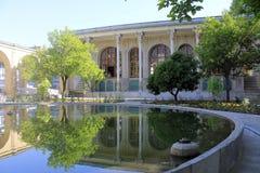 Masoudieh-Palast, Teheran, der Iran Stockfotos