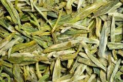 Masowi zielona herbata liście Zdjęcie Royalty Free