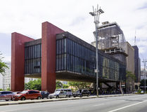 MASP exterior on the Paulista Avenue in Sao Paulo, Brazil Stock Photo