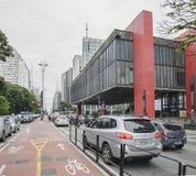 MASP muzeum, Sao Paulo SP Brazylia obraz royalty free