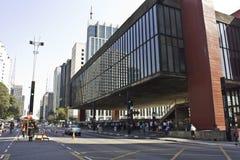 MASP - Sao Paulo - Brazilië Stock Foto's