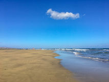 Maspalomas beach - Gran Canaria stock photography