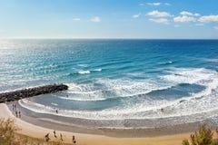 Maspalomas beach Stock Image