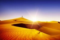 Maspalomas, beliebter Erholungsort, Goldwüste. Lizenzfreie Stockfotos