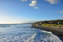 Maspalomas coast Royalty Free Stock Images