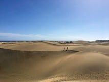 Maspalomas-Dünen - Gran Canaria Stockbilder