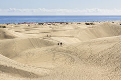 Maspalomas Dunas Beach, Gran Canaria Stock Photos