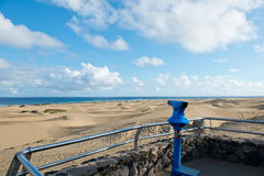 MasPalomas Dunes, Canary Islands, Spain Stock Image
