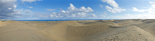 MasPalomas Dunes, Canary Islands, Spain Stock Photo