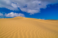 Maspalomas dunes Royalty Free Stock Photography