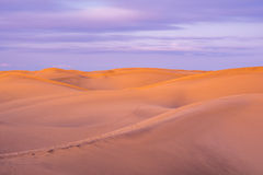 Maspalomas dunes Royalty Free Stock Photo