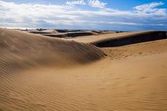 Maspalomas dunes in Gran Canaria Stock Photo