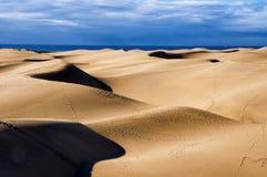 Maspalomas dunes in Gran Canaria Stock Photography