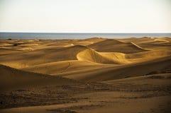Maspalomas dunes in Gran Canaria Royalty Free Stock Image