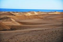 Maspalomas dunes in Gran Canaria Stock Image