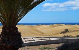 Maspalomas dunes Stock Image
